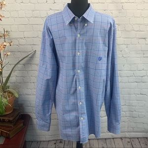 Chaps Oxford Button Down Shirt Big and Tall XXL